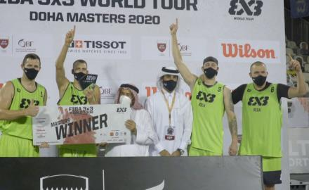 WATCH:Lasmanis hits amazing buzzer-beater as Riga claims FIBA 3x3 World Tour Doha Masters 2020 crown