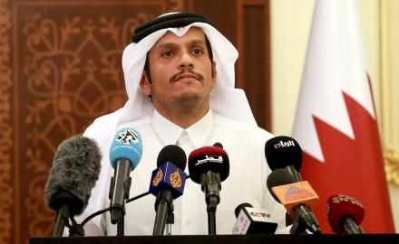 Some progress in communication with UAE, says Qatar's FM
