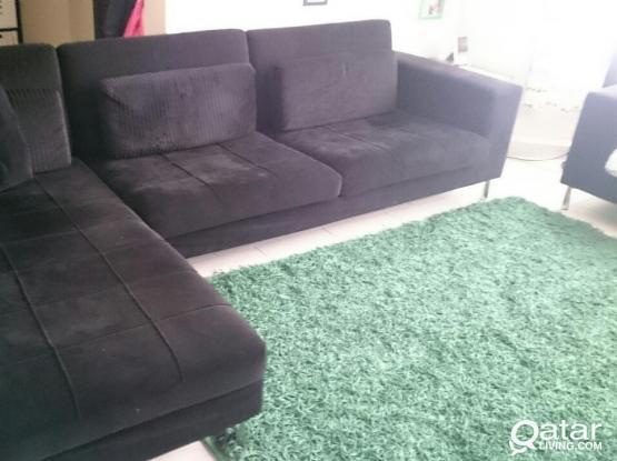 Sofa Set (L shape + 2 seat)