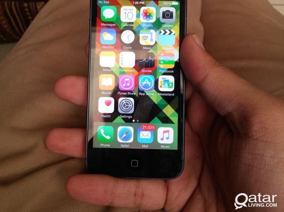 Iphone 5 64GB Black