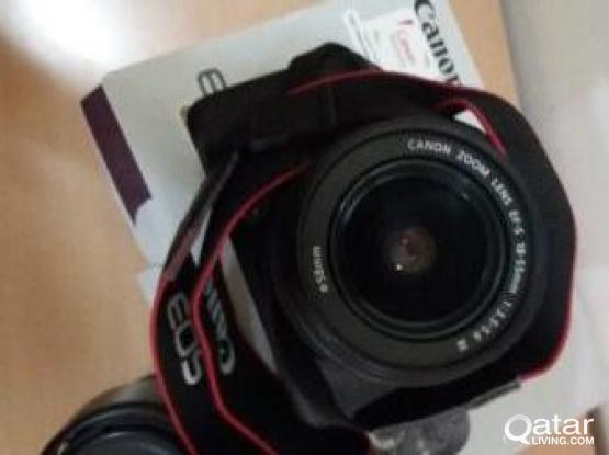 new canon 1200D with 18-55 lens