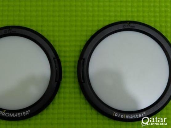 72mm & 77mm white balance lens caps