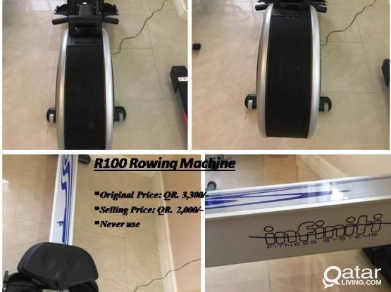 Buy R100 Rowing Machine for QR. 2,000 and get stepper machine FREE