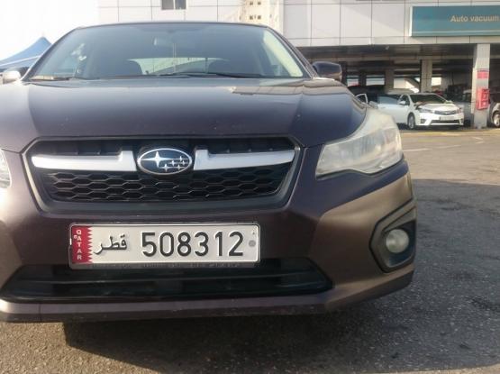 Subaru Imperza 2013