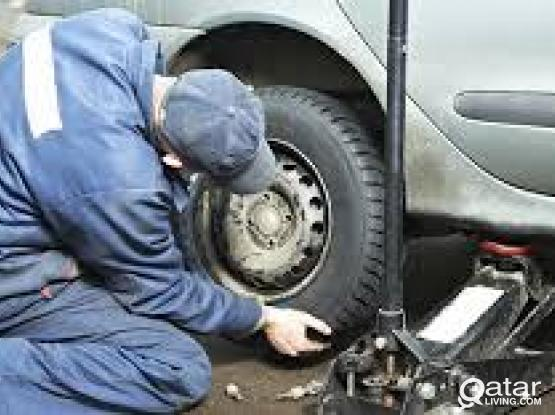 flat Tire Repair / Mobile Puncture Repair call 30031241