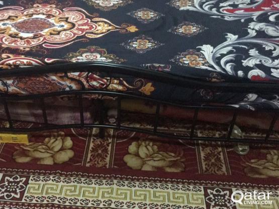 Double bed - Steel