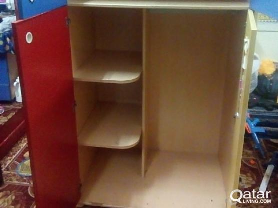 kids cupboard- 180/-
