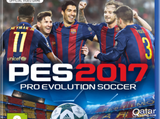 Pes 2017 for ps4
