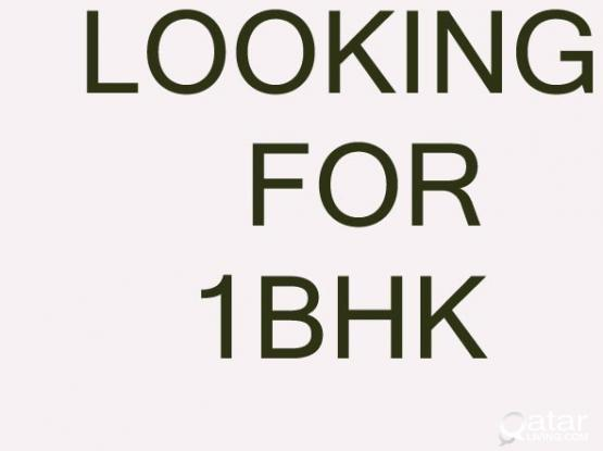 LOOKING FOR 1BHK , FOR JUNE