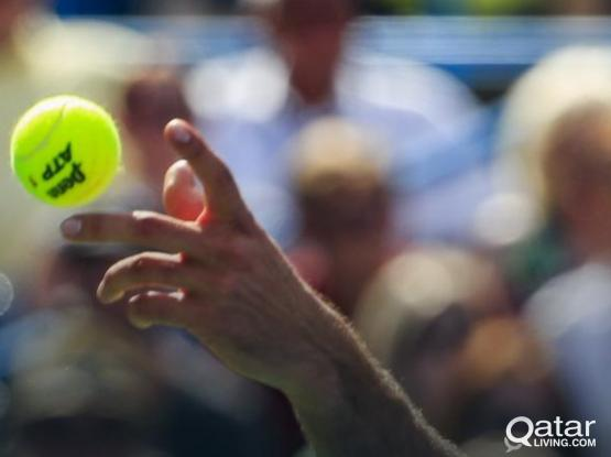 Female tennis coach
