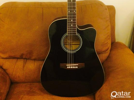 Semi Acoustic Guitar Famous Brand Gb A For Sale Qatar Living