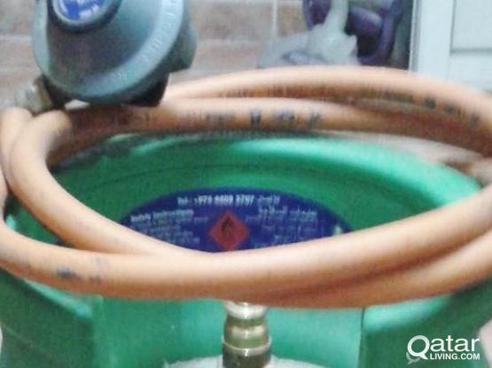 Shafaf gas cylinder, regulator and pipe for sale