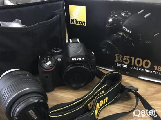 Nikon D5100 for sale, almost new