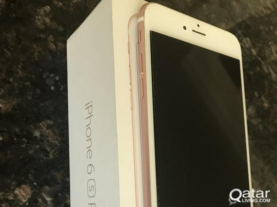 Ihpone 6 S plus 16 GB rose gold