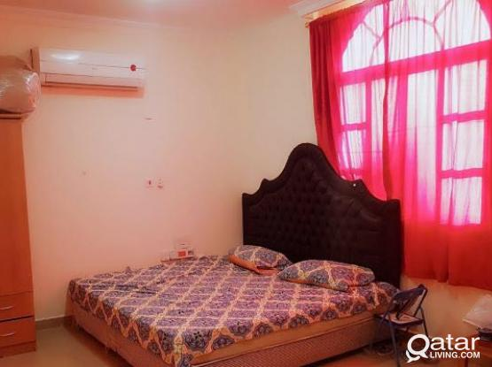 1bhk fully furnished for family