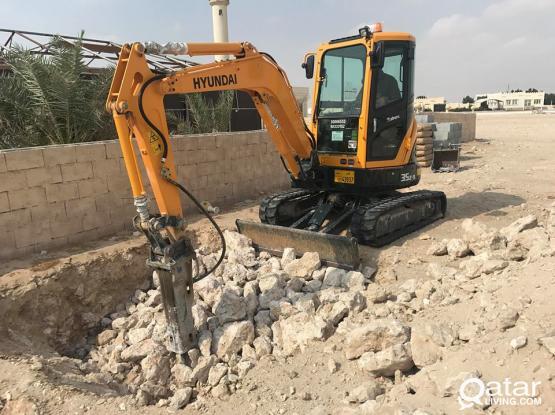 Hyundai Excavator 2017