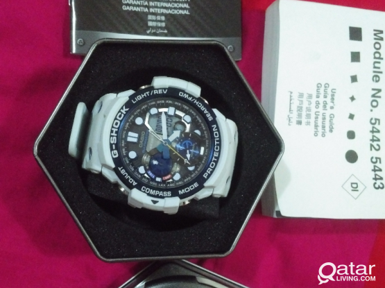 G-SHOCK GULFMASTER - Compass, Thermometer, Moon Tide Graph