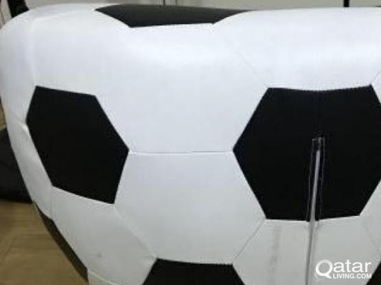 Football shape, rotatable sofa for sale