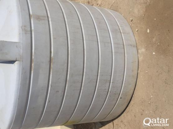 USED WATER TANK 1500 USG FOR SALE