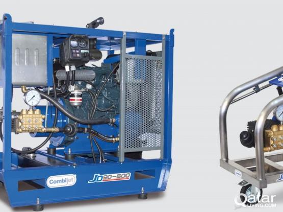 High Pressure Water Blasting Machine 1500 bar