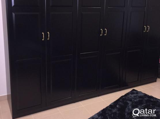 Wardrobe and Bedside Tables (Ikea)