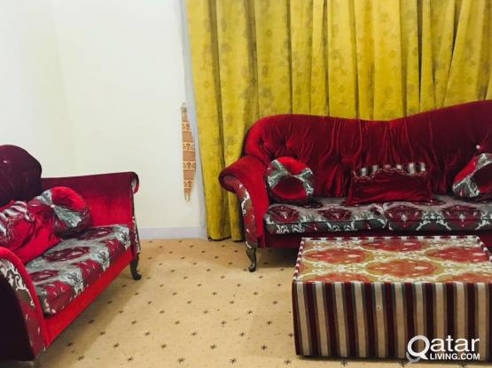 Beautiful sofa 3 seater x 2 pcs