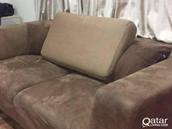Moving sale high quality sofa 3 seater x 2 pcs