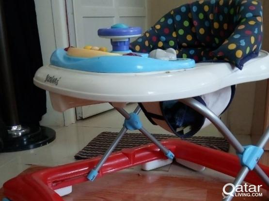 Junior's Brand Baby Walker with Music