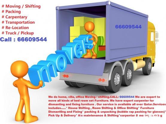 Moving-Shifting-Re Locating - Doha