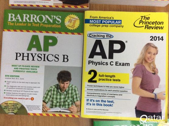 Advanced Placementf/AP books/SAT Books for American Colleges ( most books UNUSED)