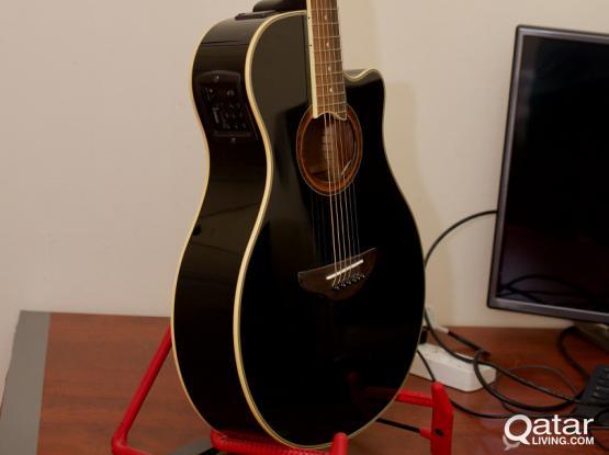 Yamaha Apx700ii Acoustic Electric Guitar Qatar Living