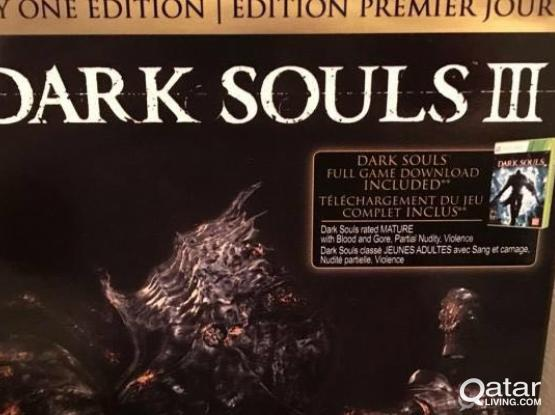 Dark Souls III Day One Edition (Xbox One) Factory Sealed