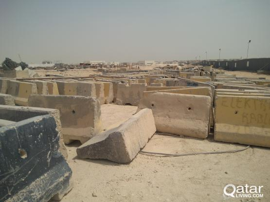 Concrete barriers for sale