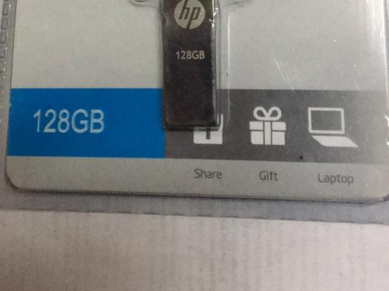 128 Gb hp &  Sony flash memory