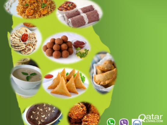Authentic Srilankan food (Sahan & Shorteats take-way on order
