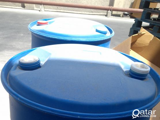 Plastic drum available