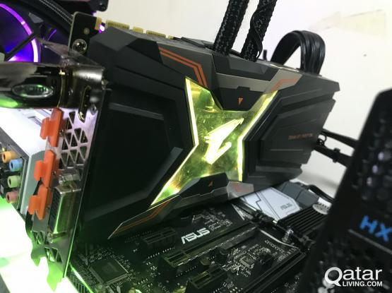 Gigabyte Aorus GTX 1080 ti waterforce xtreme edition (watercool)