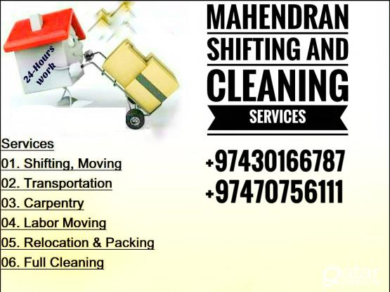 Shifting and Cleaning Services