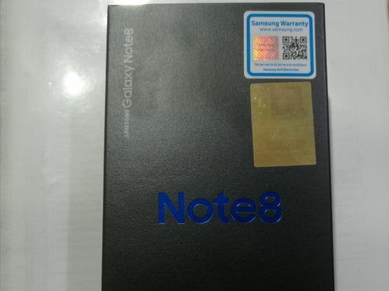 New note 8 2 years warranty