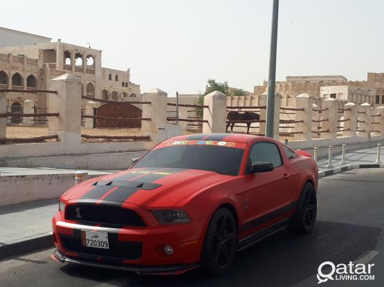 Ford Mustang Shelby 2012