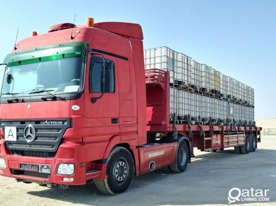 Trailers for rent with RLIC,MIC & Dukhan pass