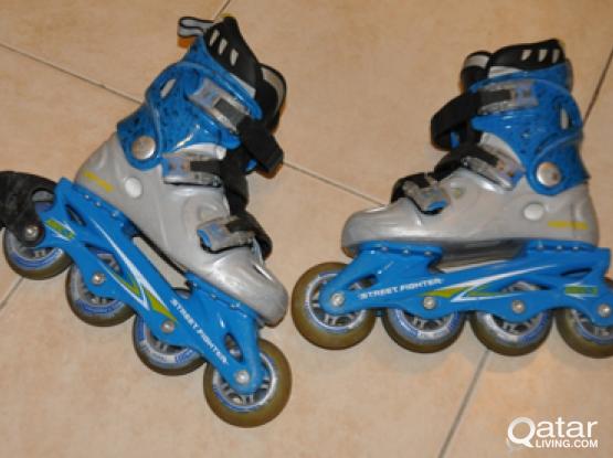 Fun Rollerblades (Street fighter)