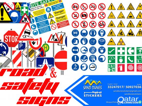 Road & safety Signs
