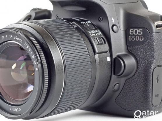 Cannon 650D DSLR Camera