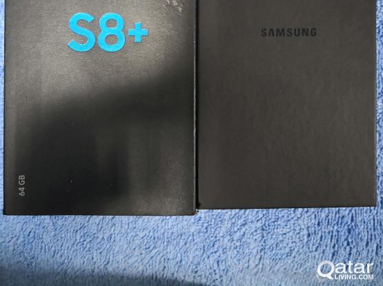 Samsung Galaxy S8+ (Full complete box)