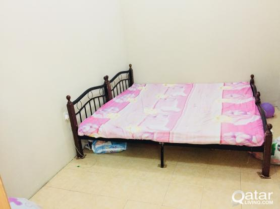 Moving sale -Bed & Cot for sale