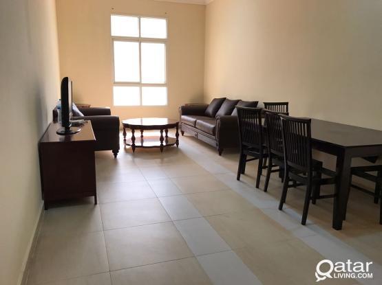 3 bedroom semi furnished in al nasr