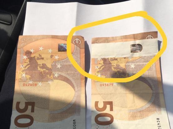EURO error note