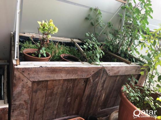 Wooden Boxes for planting