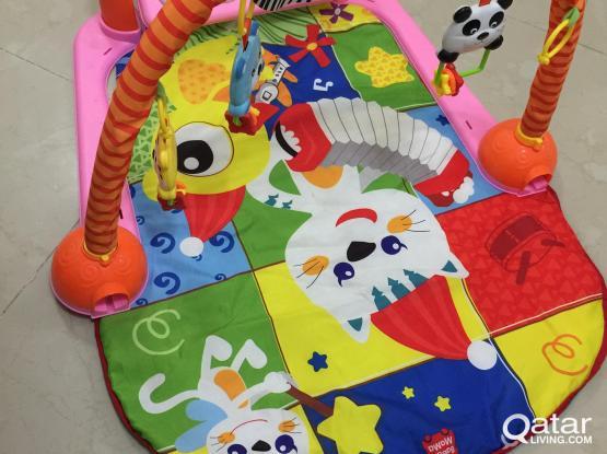 Musical play mat
